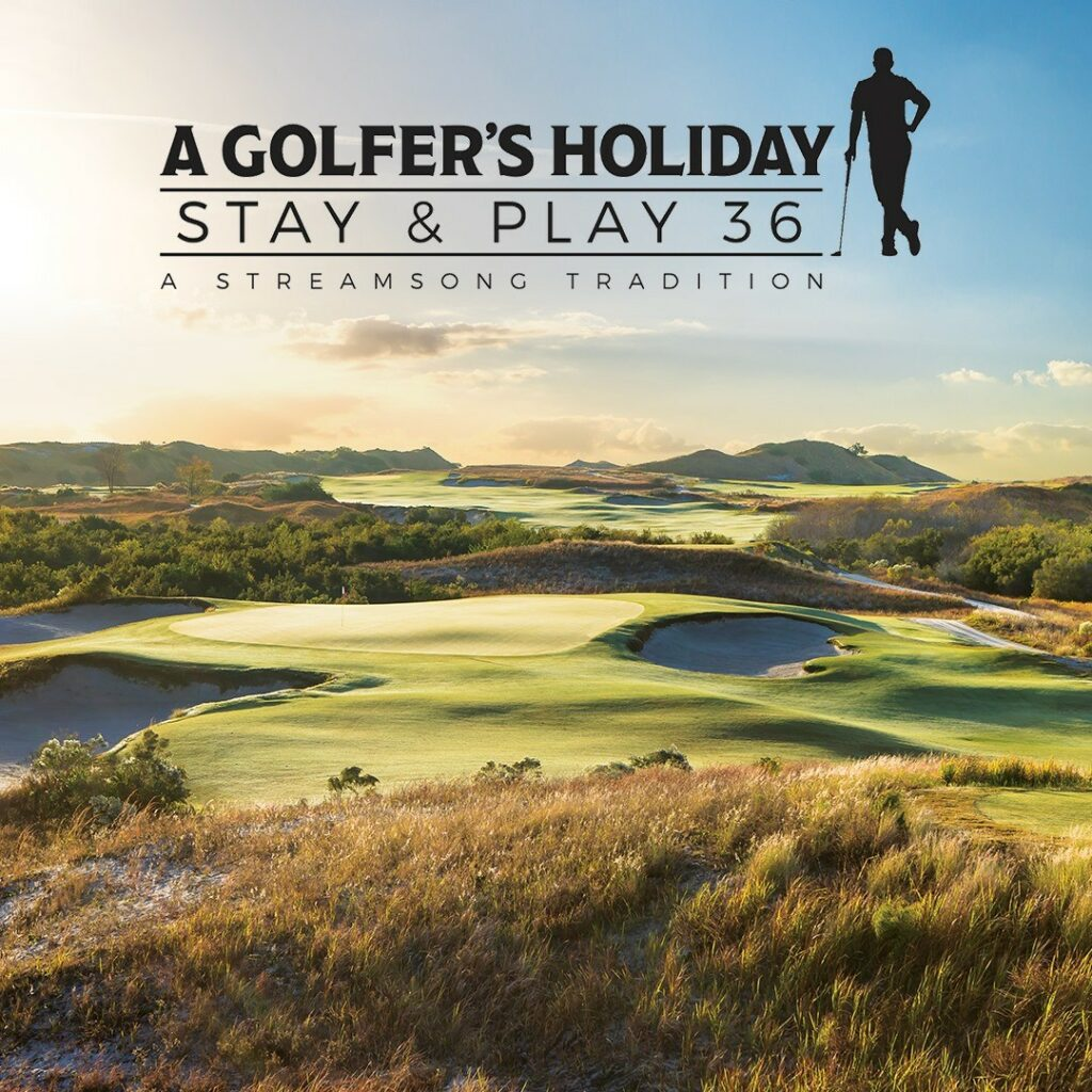 "The holiday season just got better with a Streamsong tradition, ""A Golfer's Holiday Stay & Play 36"" package. Offering a two-night stay, two rounds of golf on your choice of courses, and a golf travel bag with $800.00 in gift items - including Maui Jim sunglasses. Link in bio. . . . #streamsong #streamsongresort #golf #golffl #golfcourse #golfer #holiday #holidayvacation #golfgetaway"