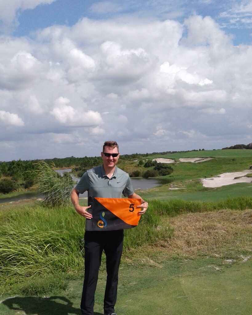 Congratulations to Matthew Patton for hitting the perfect hole in one shot with a 8 iron on Streamsong Black #5 from 135 yards out! His first ace ever!  . . . #streamsong #streamsongresort  #streamsongblue #holeinone #golf #golfer #golffl #lovefl #golfislife #golfcourse #golfing  #hitthelinks