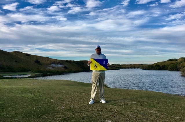 Congratulations to Jim Rattigan on hitting a hole in one on Streamsong Blue #5! He hit with a 9 iron from 128 while playing with our Director of Agronomy, Rusty Mercer.  . . . #golf #golfcourse #florida #club #course #golfclub #golfer #flgolfer #golfcart #instagolf #instacourse #instacourses #streamsong #streamsongresort #streamsongblack #streamsongred #streamsongblue