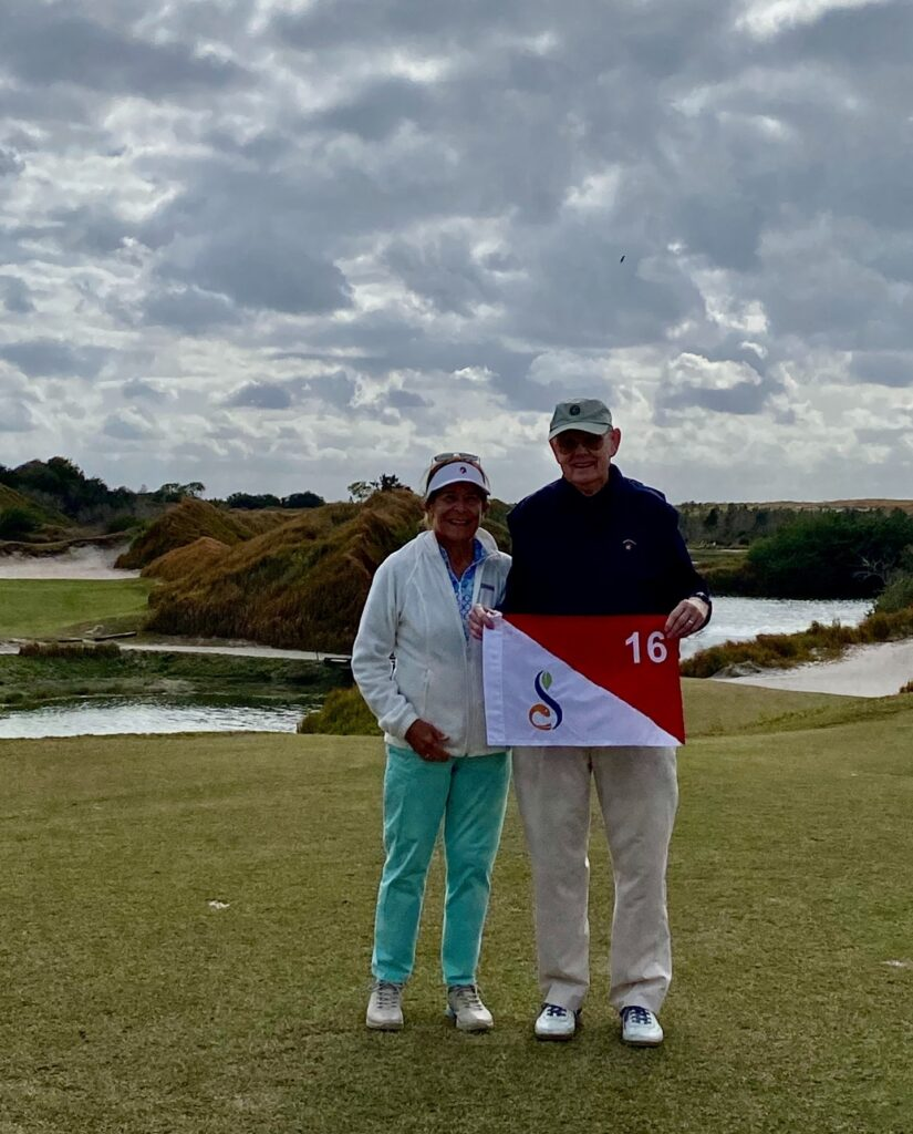 Congratulations to Bruce Birgbauer who had a Hole in One on Streamsong Red #16 while playing with his wife, Sally! ⛳️ . . . #golf #golfcourse #florida #club #course #golfclub #golfer #flgolfer #golfcart #instagolf #instacourse #instacourses #streamsong #streamsongresort #streamsongblack #streamsongred #streamsongblue